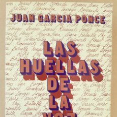 Libros de segunda mano: LAS HUELLAS DE LA VOZ. JUAN GARCÍA PONCE. Lote 136536352