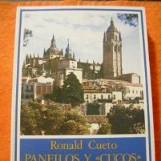 Libros de segunda mano: PANFILOS Y 'CUCOS', HISTORIA DE UNA POLÉMICA SEGOVIANA, DE RONALD CUETO. F.U.E.,1984. ¡NUEVO!. Lote 137226022
