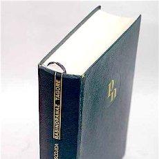 Libros de segunda mano: OBRA ESCOGIDA: LÍRICA BREVE; TEATRO; CUENTO; AFORISMO; ESCUELA - TAGORE, RABINDRANATH (1861-1941). Lote 131765551
