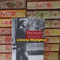 Libros de segunda mano: ENSAYOS LITERARIOS . AUTOR : POUND, EZRA . Lote 139796766
