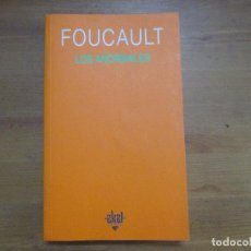 Libros de segunda mano: LOS ANORMALES. MICHEL FOUCAULT. AKAL EDICIONES. Lote 140465058