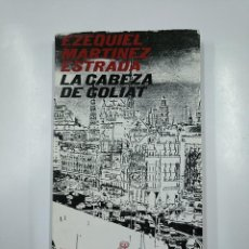 Libros de segunda mano: LA CABEZA DE GOLIAT. - MARTÍNEZ ESTRADA, EZEQUIEL. CIMAS DE AMERICA. REVISTA DE OCCIDENTE. TDK49. Lote 140975846