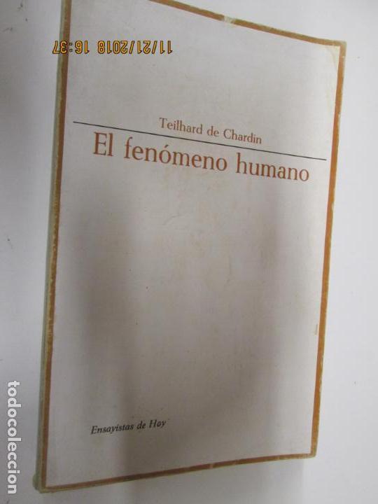 EL FENÓMENO HUMANO - TEILHARD DE CHARDIN - TAURUS (Libros de Segunda Mano (posteriores a 1936) - Literatura - Ensayo)