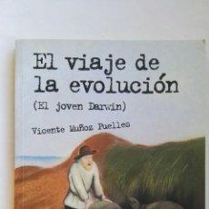 Libros de segunda mano: EL VIAJE DE LA EVOLUCIÓN (EL JOVEN DARWIN). Lote 142393901
