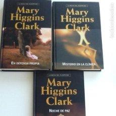 Libros de segunda mano: LOTE 3 LIBROS MARY HIGGINS CLARK. Lote 143400226