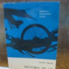 Libros de segunda mano: HISTORIA DE LA LITERATURA ROMANA. LUDWIG BIELER. BIBLIOTECA UNIVERSAL GREDOS 1992.. Lote 145061250
