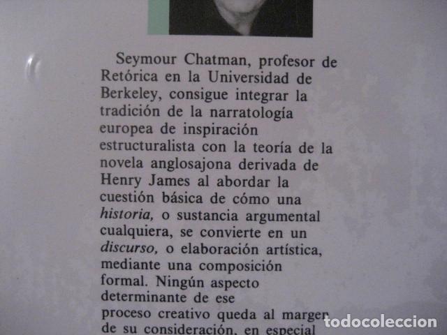 Historia Y Discurso La Estructura Narrativa En La Novela Y En El Cine Seymour Chatman Nuevo