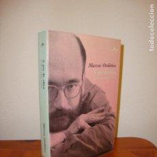 Libros de segunda mano: A PIE DE OBRA. ESCRITOS SOBRE TEATRO - MARCOS ORDÓÑEZ - ALBA ARTES ESCÉNICAS, MUY BUEN ESTADO. Lote 146156194