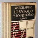Libros de segunda mano: OBRAS DE MARCEL MAUSS. 3 TOMOS.. Lote 146181738