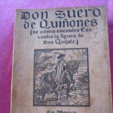 Libros de segunda mano: DON SUERO DE QUIÑONES O EL CABALLERO LEONES ALFONSO CAMIN. Lote 147000358