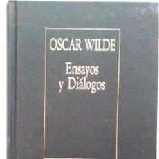 Libros de segunda mano: OSCAR WILDE: ENSAYOS Y DIÁLOGOS. BORGES. ED. ARGENTINA. Lote 147462570