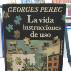 Libros de segunda mano: LA VIDA INSTRUCCIONES DE USO. GEORGES PEREC. CIRCULO DE LECTORES, 1993. Lote 148215506
