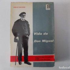 Libros de segunda mano: LIBRERIA GHOTICA. EMILIO SALCEDO. VIDA DE DON MIGUEL. UNAMUNO EN SU TIEMPO.1964.1A EDICIÓN.. Lote 149646994