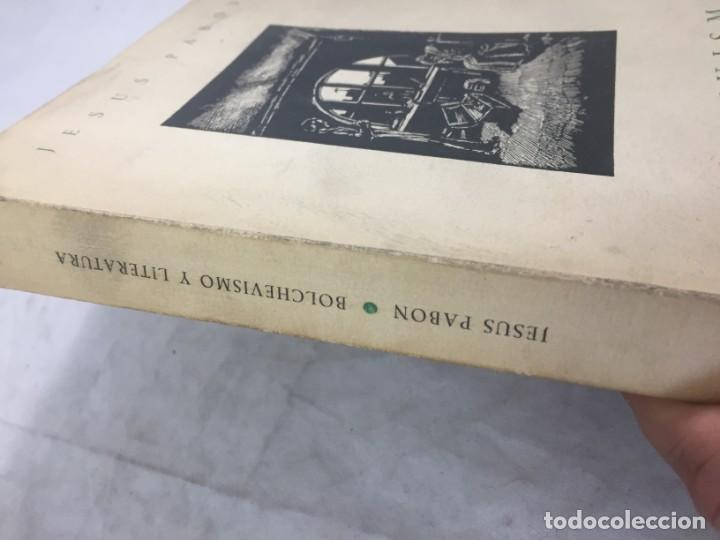 Libros de segunda mano: Jesús Pabón Bolchevismo y Literatura Firmado por el autor Papel Hilo 1ª edición grabados 1949 - Foto 2 - 149750678
