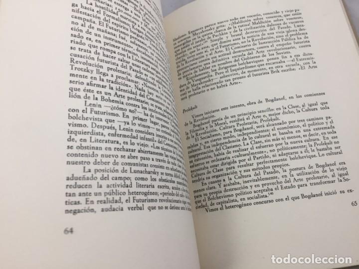 Libros de segunda mano: Jesús Pabón Bolchevismo y Literatura Firmado por el autor Papel Hilo 1ª edición grabados 1949 - Foto 6 - 149750678