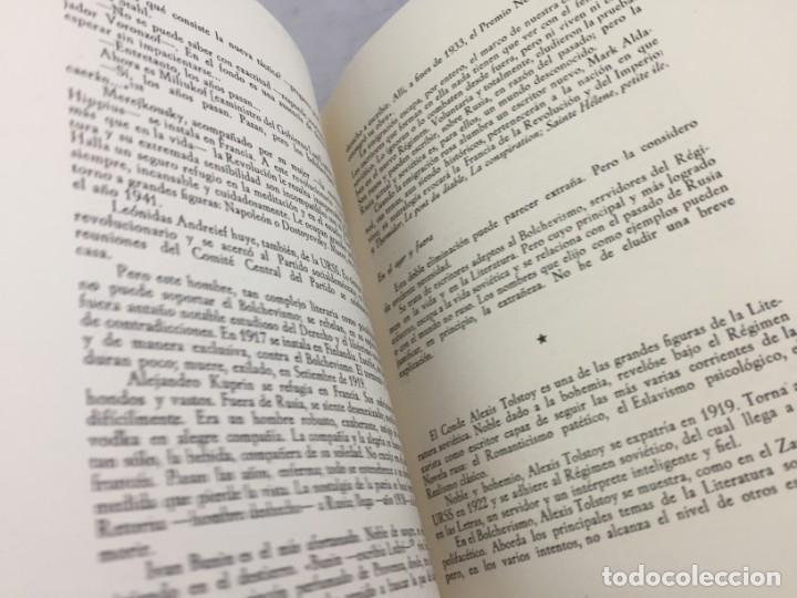 Libros de segunda mano: Jesús Pabón Bolchevismo y Literatura Firmado por el autor Papel Hilo 1ª edición grabados 1949 - Foto 9 - 149750678
