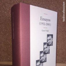 Libros de segunda mano: ENSAYOS (1952-2001) - GORE VIDAL - EDHASA - TAPA DURA Y SOBRECUBIERTA - NUEVO. Lote 150733558