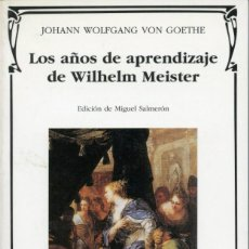Libros de segunda mano - Goethe, Los años de aprendizaje de Wilhelm Meister - 151011082