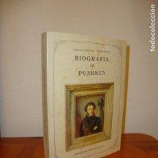 Libros de segunda mano: BIOGRAFÍA DE PUSHKIN - CARMEN BRAVO VILLASANTE - JOSÉ DE OLAÑETA, MUY BUEN ESTADO. Lote 151458618