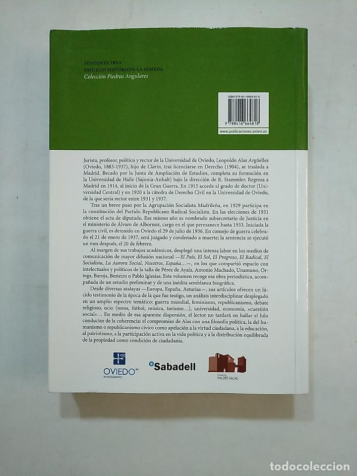 Libros de segunda mano: OBRA PERIODÍSTICA DE LEOPOLDO ALAS ARGÜELLES (1883-1937) OCAMPO SUÁREZ-VALDÉS, JOAQUÍN. TDK370 - Foto 2 - 152421278