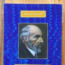 Libros de segunda mano: SANTIAGO RAMON Y CAJAL SINOPSIS CRONOLOGIA Y CONTEXTO HISTORICO, FERNANDO SOLSONA. Lote 152422914