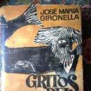 Libros de segunda mano: JOSÉ MARÍA GIRONELLA. GRITOS DEL MAR. DEDICATORIA A CARLOS SENTÍS.. Lote 153074509