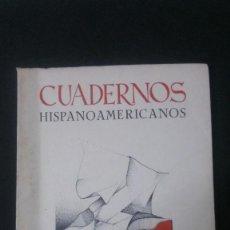 Libros de segunda mano: CUADERNOS HISPANOAMERICANOS Nº 259-1972-RAFAEL ALBERTI-MARIO CARREÑO-SAN IGNACIO DE LOYOLA. Lote 155634502