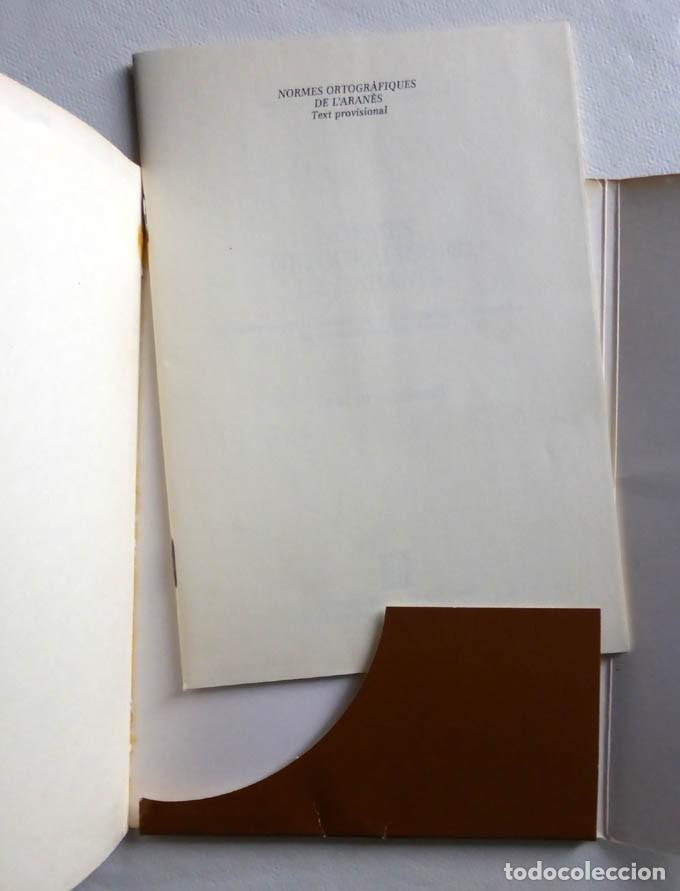 Libros de segunda mano: NORMES ORTOGRAFIQUES DER ARANÉS : TEXT PROVISIONAL - COMISSION ENTAR ESTUDI DERA NORMATIUA LINGÜÍST - Foto 2 - 155868890