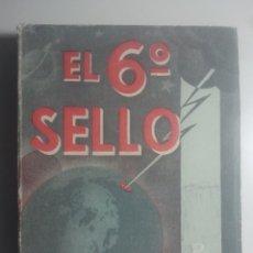 Libros de segunda mano: EL 6º SELLO ( ANTICRISTO ) OBRAS COMPLETAS DE HUGO WAST - TOMO XXIX - ALDECOA, ENSAYO. Lote 156277662