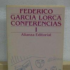 Libros de segunda mano: LMV - CONFERENCIAS 1. FEDERICO GARCÍA LORCA. Lote 158438842
