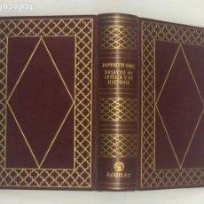Libros de segunda mano: AÑO 1953 - TAINE, HIPPOLYTE ADOLPHE. ENSAYOS DE CRÍTICA Y DE HISTORIA - AGUILAR COLECCIÓN JOYA LUJO. Lote 158913754