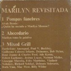 Libros de segunda mano: MARILYN REVISADA, CUADERNOS ANAGRAMA. Lote 159466306