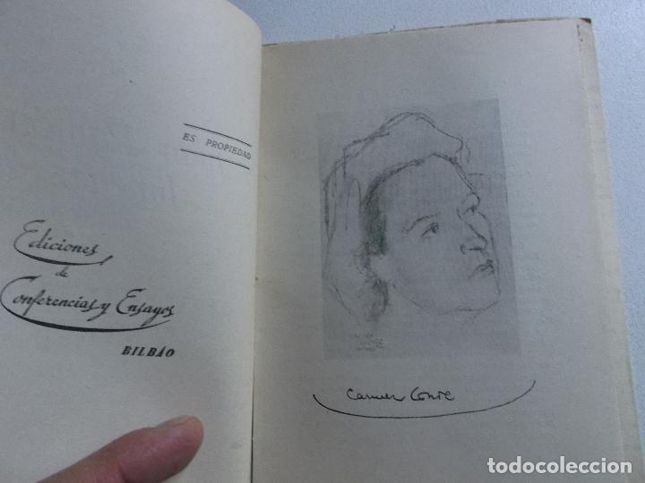 Libros de segunda mano: FLORENTINA DEL MAR (CARMEN CONDE) : JUAN RAMÓN JIMÉNEZ (BILBAO, c. 1950) - Foto 3 - 161721582