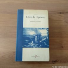 Livres d'occasion: LIBRO DE RÉQUIEMS. MAURICIO WIESENTHAL.. Lote 163483617