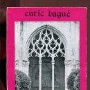 Libros de segunda mano: ENRIC BAGUÉ. NOMS PERSONALS DE L'EDAT MITJANA. ED. MOLL. PALMA 1975. Lote 163832134