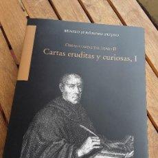 Libros de segunda mano: BENITO JERÓNIMO FEIJOO. OBRAS COMPLETAS TOMO 2, CARTAS ERUDITAS Y CURIOSAS 1. EXCELENTE ESTADO.. Lote 164917826