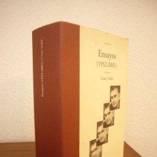 Libros de segunda mano: GORE VIDAL: ENSAYOS 1952-2001 (EDHASA, 2007) MUY BUEN ESTADO. TAPA DURA.. Lote 165090814
