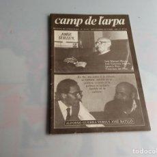 Libros de segunda mano: CAMP DE L´ARPA Nº 91-92 JORGE GUILLEN - REVISTAS DE LITERATURA. Lote 165636002