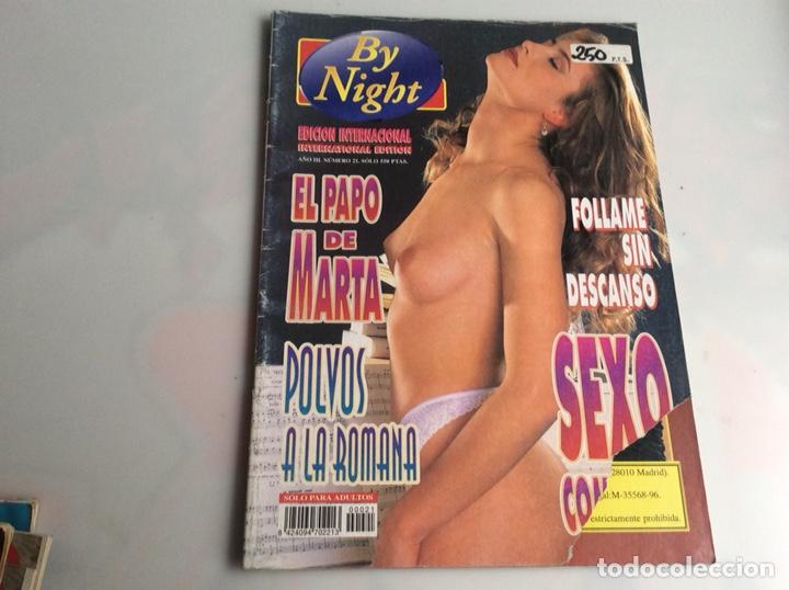 BY NIGHT Nº 21 REVISTA PARA ADULTOS DE LOS AÑOS 90 (Libros de Segunda Mano (posteriores a 1936) - Literatura - Ensayo)