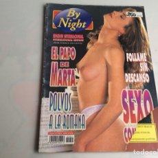 Libros de segunda mano: BY NIGHT Nº 21 REVISTA PARA ADULTOS DE LOS AÑOS 90 . Lote 165638578