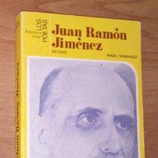 Libros de segunda mano: ÁNGEL GONZÁLEZ - JUAN RAMÓN JIMÉNEZ - JÚCAR, 1981. Lote 36474467
