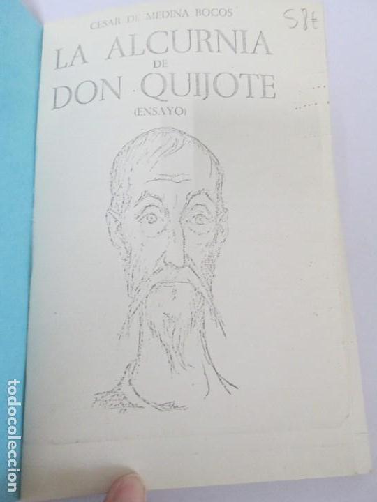 Libros de segunda mano: CESAR DE MEDINA BOCOS. LA ALCURNIA DE DON QUIJOTE. TALLERES GRAFICOS CERES. - Foto 7 - 167910668