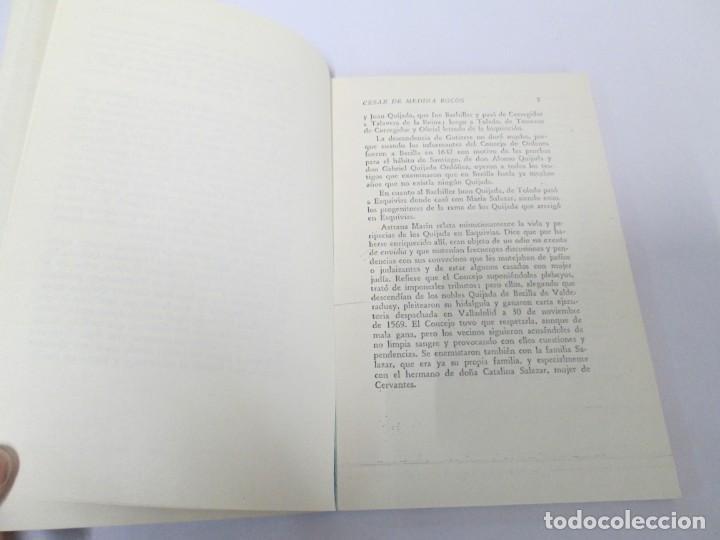 Libros de segunda mano: CESAR DE MEDINA BOCOS. LA ALCURNIA DE DON QUIJOTE. TALLERES GRAFICOS CERES. - Foto 9 - 167910668