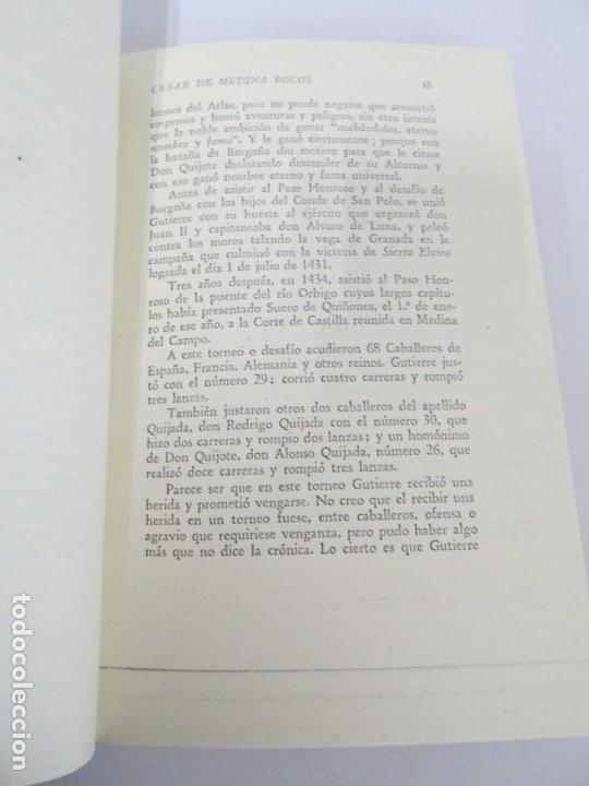 Libros de segunda mano: CESAR DE MEDINA BOCOS. LA ALCURNIA DE DON QUIJOTE. TALLERES GRAFICOS CERES. - Foto 11 - 167910668