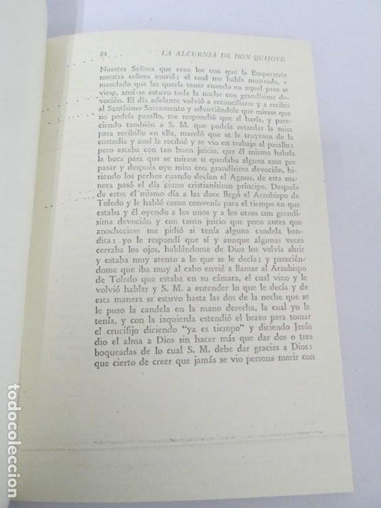 Libros de segunda mano: CESAR DE MEDINA BOCOS. LA ALCURNIA DE DON QUIJOTE. TALLERES GRAFICOS CERES. - Foto 13 - 167910668
