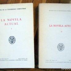 Gebrauchte Bücher - Revista de la Universidad Complutense. La Novela actual. Tomo I y II - 168014556