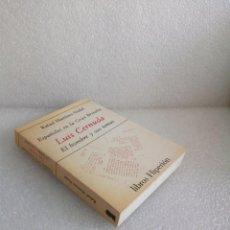 Libros de segunda mano: ESPAÑOLES EN LA GRAN BRETAÑA - LUIS CERNUDA - EL HOMBRE Y SUS TEMAS - R.MARTINEZ. Lote 168336780