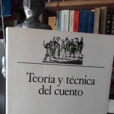 Livres d'occasion: ANDERSON: TEORIA Y TECNICA DEL CUENTO, (ARIEL, 1992).. Lote 169372996
