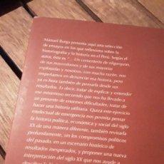 Libros de segunda mano: LA HISTORIA Y LOS HISTORIADORES EN EL PERU, DE MANUEL BURGA. ÚNICO EN TC. EXCELENTE ESTADO.. Lote 169698936