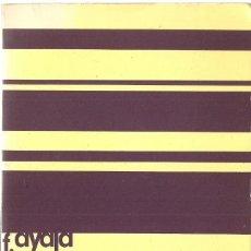 Libros de segunda mano: FRANCISCO AYALA : CONFRONTACIONES. (ED. SEIX BARRAL, SERIE MAYOR, 1972). Lote 170294408